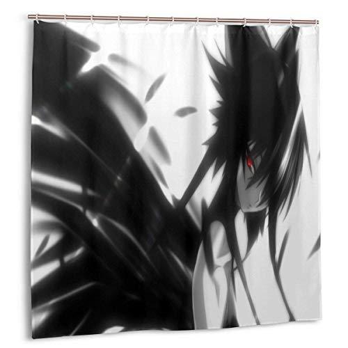 yongxing Anime Mahou Shoujo Ai Duschvorhang Lustige wasserdichte Badezimmer-Duschvorhänge - für die Inneneinrichtung Badezimmer & Badewannen