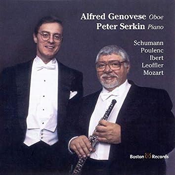 Schumann, Poulenc, Ibert, Loeffler, Mozart