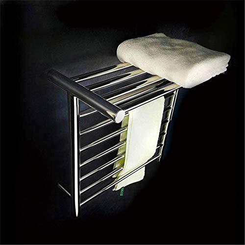 HXCD Rieles para Toallas con calefacción Calentador de Toallas, Rejilla para Toallas con calefacción, Calentador de Toallas de baño Montado en la Pared para Cocina Soporte de Toalla eléctrico de