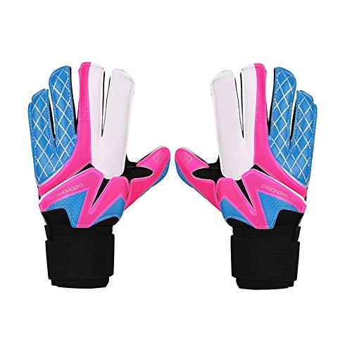 Anti-Rutsch-Goalie Handschuhe Torwarthandschuhe Erwachsene Kinder Torwarthandschuhe Latexhandschuhe Rutschfeste Torwarthandschuhe Größe 5-10 Hervorragender Schutz Abriebfester Handschuh Trainingshands