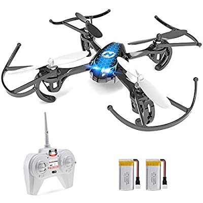 Holy Stone HS170 Mini Drone for Kids & Adults, RC Nano Quadcopter with 2 Batteries, Altitude Hold, Headless Mode, 3D Flips, One Key Take-Off and Speed Adjustment, Easy Toy for Beginners by Holy Stone