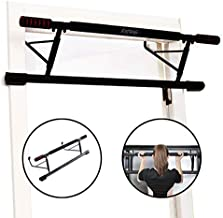 Estleys Foldable Pull-Up Bar Doorway Trainer, Chin-Up Bars for Door Frames Without Screws/Drilling, Workout for Home Gym Exercise