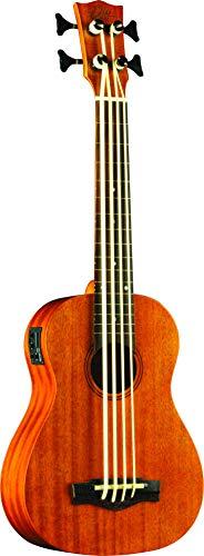 EKO Guitars UKU DUO UKUBASS FRETLESS - La fusione tra un basso e un ukulele, Colore Naturale
