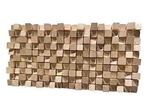 Coppia Pannelli Acustici SKYLINE 49x49 cm. in legno