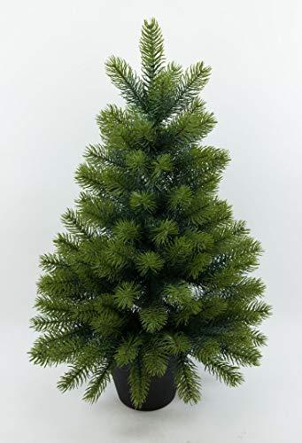 Edel - Tannenbaum III 65cm GA künstlicher Weihnachtsbaum Kunststanne Kunststoff Spritzguss-Verfahren 100% PE