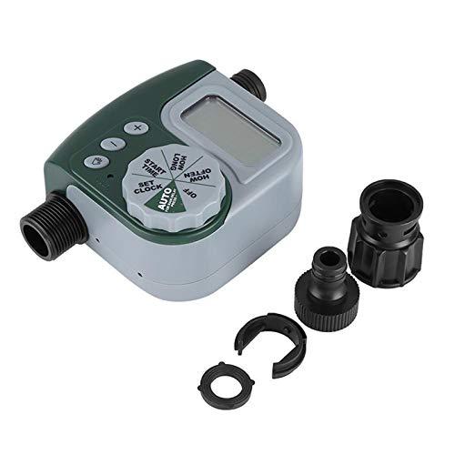 Temporizador de Riego, MKNZOME Temporizador de Agua Automático Controlador Digital Programable para Jardín Hierba Planta de Invernadero, baterías no Incluidas#4