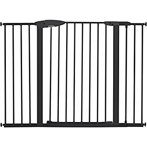 "Munchkin Easy Close XL Metal Baby Gate, 29.5"" - 51.6"" Wide, Black, Model MK0009-111"