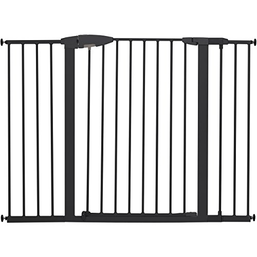 Munchkin Easy Close XL Metal Baby Gate, 29.5' - 51.6' Wide, Black, Model MK0009-111