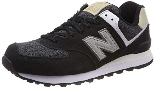 New Balance, Herren Sneaker, Schwarz (Black), 41.5 EU (7.5 UK)