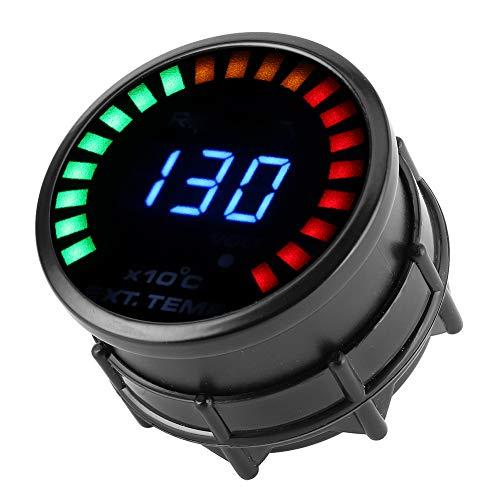 Bediffer Digitales Messgerät 52 mm EGT-Temperaturanzeige für Autozubehör für Ersatzteile