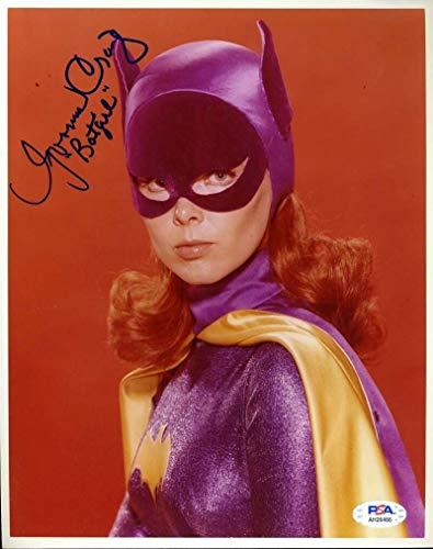 Yvonne Craig PSA DNA Coa Signed 8x10 Batgirl Photo Autograph