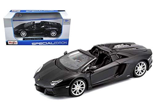 Maisto 31504 - Modellauto 1:24 Lamborghini Aventador LP 700-4, blau metallic