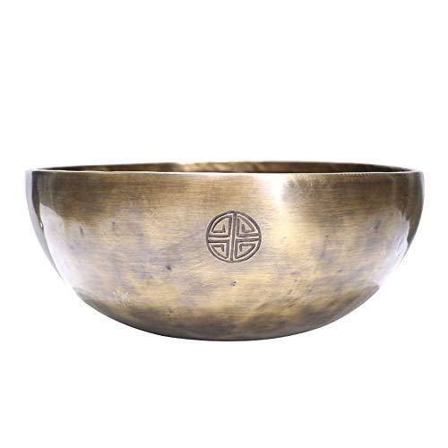 FFDGHB Tibetische Klangschale Handgemachte Tibetische Buddhistische Klangschale Aus Glockenmetall Mit Meditationsinstrument D13 cm