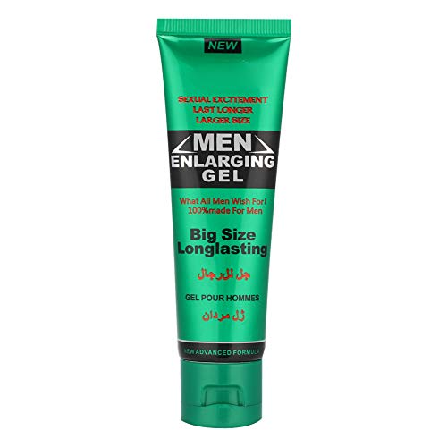 Men Energy Cream, 50g Male Enlargement Cream Enhancement Extender Ointment, Private Parts Massage Gel Larger Thicker Longer for Male Better Performance (Green)