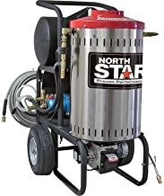 NorthStar Electric Wet Steam and Hot Water Pressure Washer - 2000 PSI, 1.5 GPM, 120 Volt