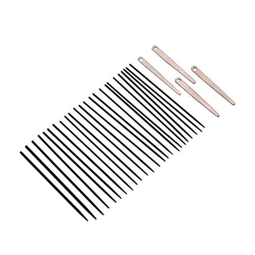 Supvox 1 satz saxophon nadel federn federteller sax reparatur kits wartungsset pin frühling flöte nadel für flöte klarinette (schwarz)