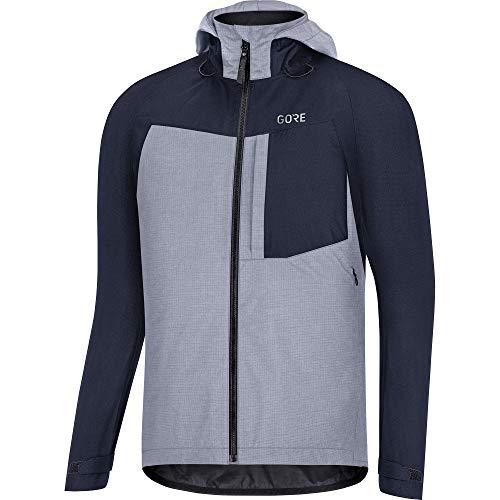 GORE WEAR Men's C5 Gore-tex Trail Hooded Jacket, Orbit Blue, M