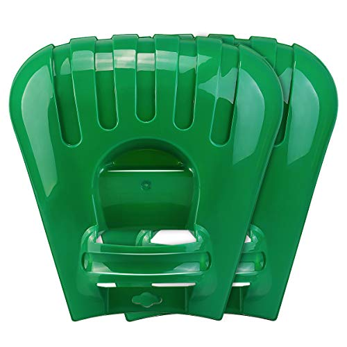Large Leaf Scoops and Hand Rake Claw, Ergonomic Hand Held Garden Rake Grabbers for Picking up Leaves,Grass Clippings and Lawn Debris