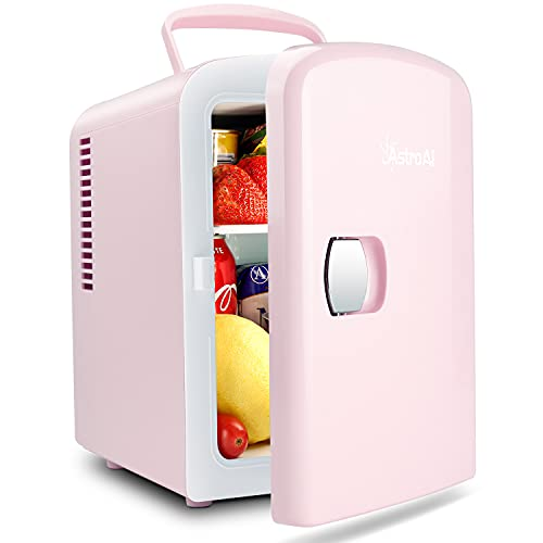 Pink Mini Fridge