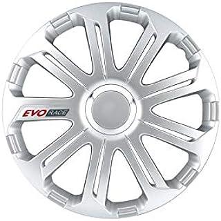 Radkappen Satz 14 Zoll Evo Race Pro Silber Von Petex 1350 3265 Radzierblenden Radblenden Felgendeckel Raddeckel Stahlfelge Auto