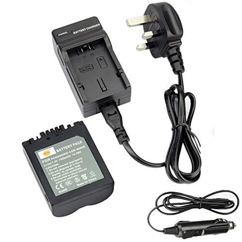 DSTE DC62U EU-Stecker Ladegerät + S006E Li-Ionen Akku für Panasonic CGR-S006E, DMW-BMA7, Lumix DMC-FZ7, DMC-FZ8, DMC-FZ18, DMC-FZ28, DMC-FZ30, DMC-FZ35, DMC-FZ38, DMC-FZ50 SLR Kameras