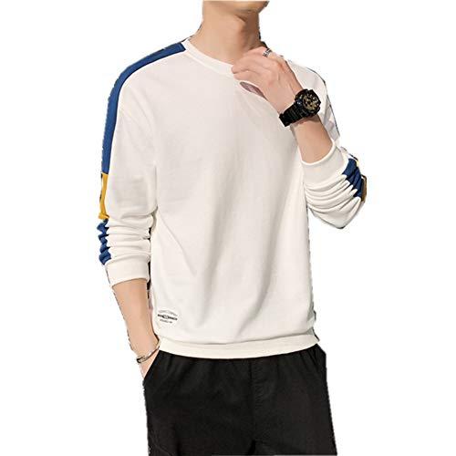 Herbst und Winter Herren Jugend Casual Langarm T-Shirt Pullover