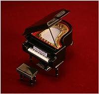 飾り物  グランドピアノ 9Cm 黒