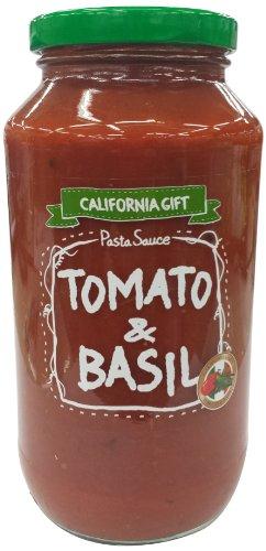 カリフォルニア・ギフト パスタソース・トマト&バジル 708g