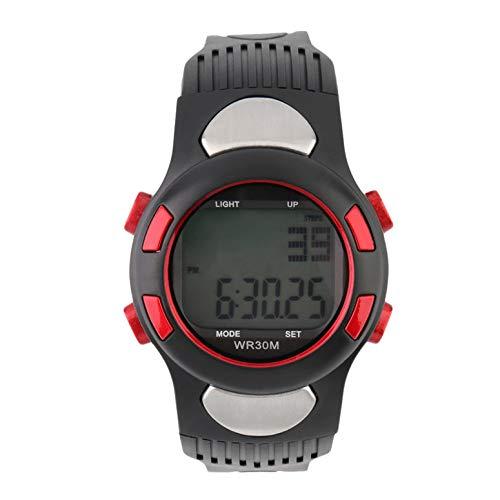 ArgoBear Infrarot Digital HeartRate Monitor Uhr Pulsmesser Sport Kalorien Tester Business Casual Hot!