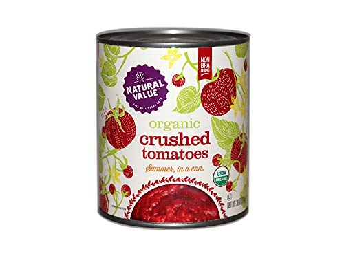 Natural Value 28-oz. Organic Crushed Tomatoes / 6-Pack