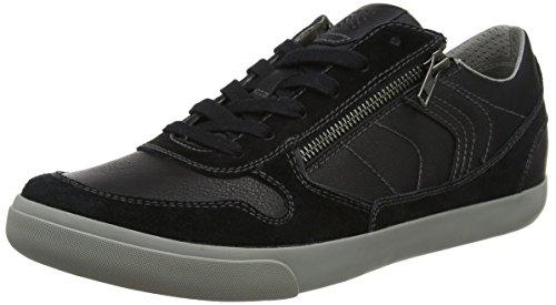 Geox U Box C, Zapatillas para Hombre, Negro, 44 EU