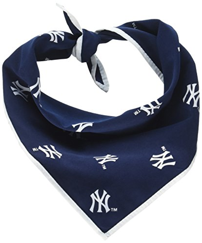 Sporty K9 MLB New York Yankees Dog Bandana, Small
