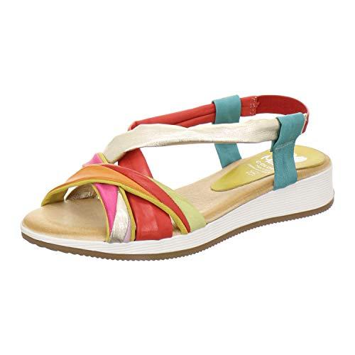 Marila Sandale Damen 1050 Größe 37 EU Mehrfarbig (Multicolor)