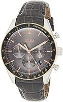 هوغو بوس ساعة رسمية للرجال , جلد , 1513628