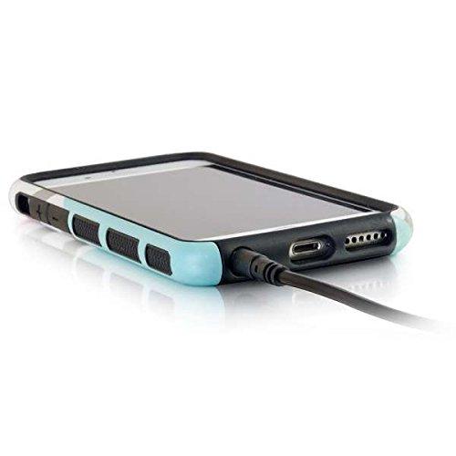 C2G 22600 3ft Slim Aux 3.5mm Audio Cable, M/M