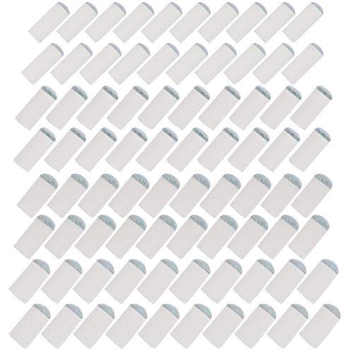 Bekith 80 Stück Billard Queue Spitze Ersatzspitzen Slip-On Pool Queue Spitzen 4 Größe (9 mm, 10 mm, 12 mm, 13 mm)