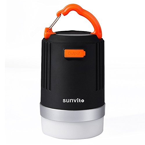 Lampada da Campeggio,Sunvito Luminosa 2-in-1 LED con...