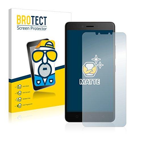 BROTECT 2X Entspiegelungs-Schutzfolie kompatibel mit Lenovo K6 Note (5.5) Bildschirmschutz-Folie Matt, Anti-Reflex, Anti-Fingerprint