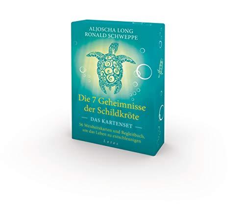 Die 7 Geheimnisse der Schildkröte - Das Kartenset: 56 Weisheitskarten und Begleitbuch, um das Leben zu entschleunigen