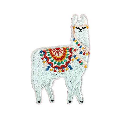 No Drama Llama Embroidered Iron On Patch Applique, Multi