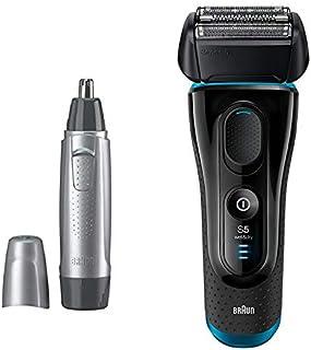 【セット買い】ブラウン メンズ電気シェーバー シリーズ5 5140s + 鼻毛/耳毛カッター EN10