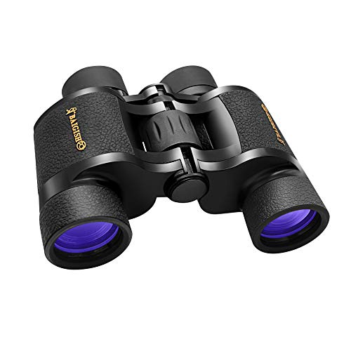 10X40 HD Binoculars for Adults,Binocular with Low Light Night Vision,Waterproof Fogproof Binoculars for Bird Watching,Travel,Hunting,Wildlife,Concert- Large Eyepiece Binoculars with BAK4 FMC Lens