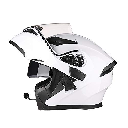 Clothing Full Face Motorcycle Helmet Overall Helmet Flip Helmet Modular Helmet Scooter Helmet Cruiser Chopper Men and Women Riding Safety Anti-Collision Helmet, DOT/ECE Certification