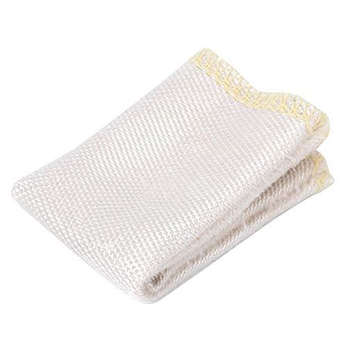 【𝐑𝐞𝐠𝐚𝐥𝐨 𝐝𝐞 𝐍𝐚𝒗𝐢𝐝𝐚𝐝】 Protector de dedos, protector de dedos de seguridad beige de alto rendimiento, fibra de vidrio para soldadores Fresado Torneado Perforación(Simple Velcro)