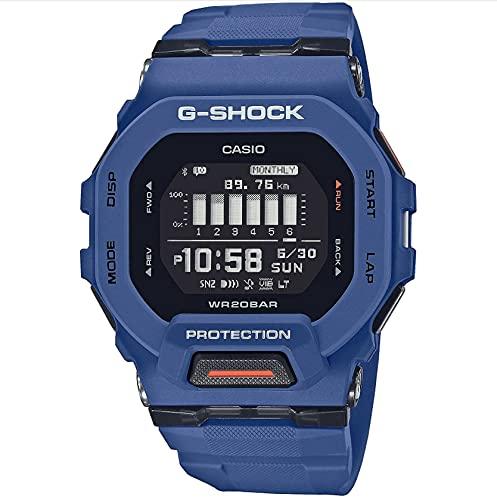 Casio G-Shock G-Squad Digitaluhr Bluetooth Blau GBD-200-2ER
