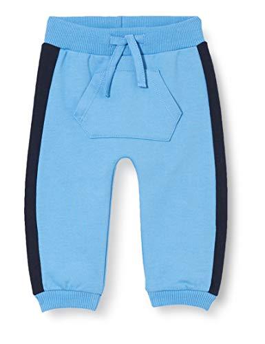 TOM TAILOR Baby-Jungen Jogginghose Hose, Chalky Azure|Blue, 86