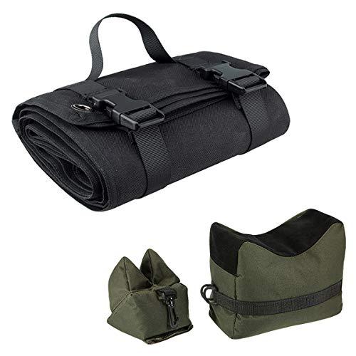 Black Tactical Shooting Gun Mat Outdoor...