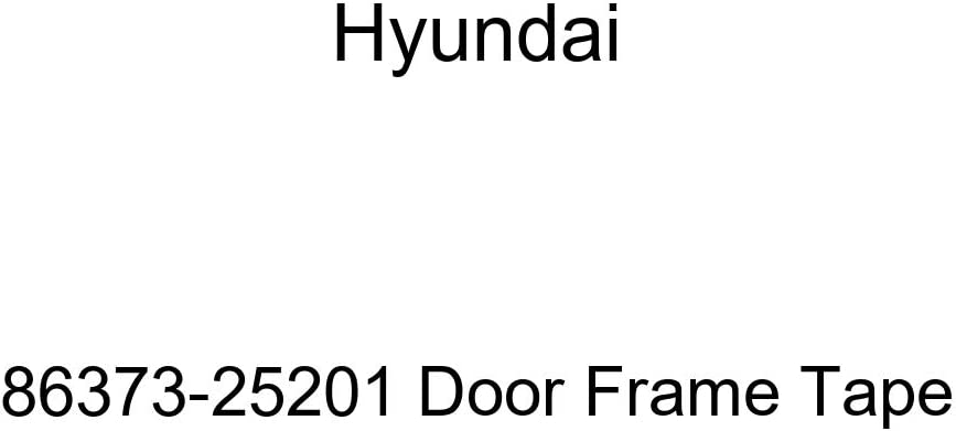 Genuine NEW Hyundai 86373-25201 Frame 70% OFF Outlet Tape Door