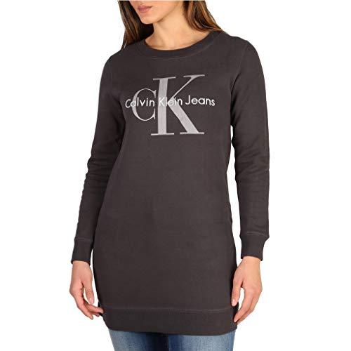 Calvin Klein Dovalina True Icon Reissue Dress Vestido, Negro (Phantom), 34 (Talla del Fabricante: X-Small) para Mujer