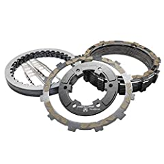Plus 6 Friction Disks Offers Up To 50% Stronger Clutch Engagement With No Increase In Lever Effort Smoother Shifting Improved Lever Feel Engineered To Eliminate Slip And Tunable To Handle High Horsepower Engines Steel Core Friction Disks For Improved...